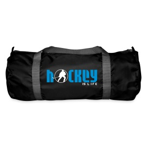 'Hockey is Life' Duffel Bag - Duffel Bag
