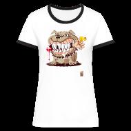 Tee shirts ~ Tee shirt contraste Femme ~ Numéro de l'article 16520028