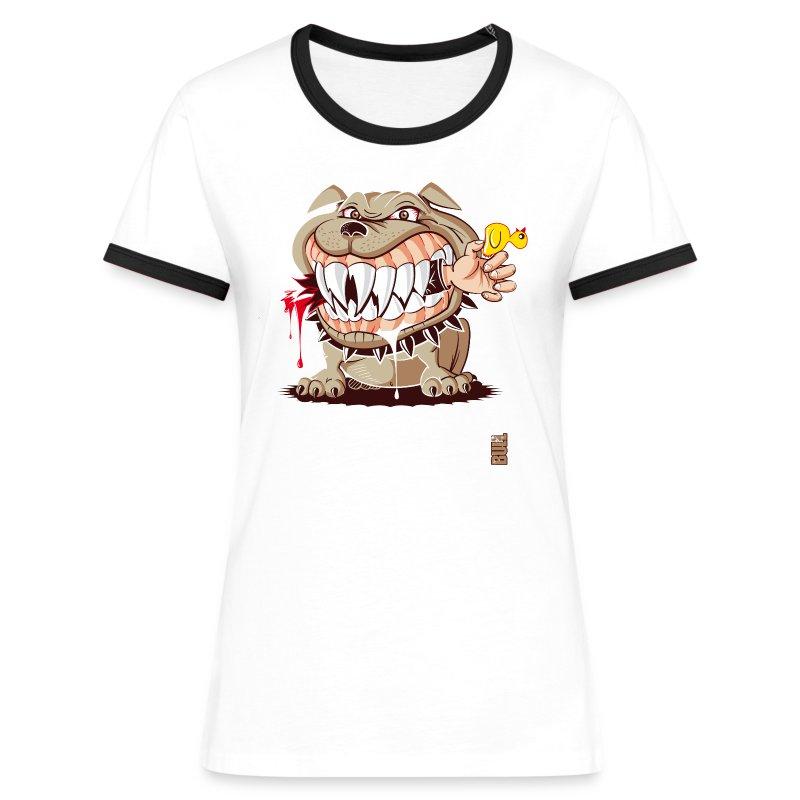 Petite annonce - T-shirt contrasté Femme