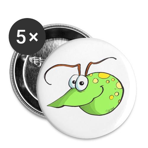 Wasserfloh - zum immer dabei haben - Buttons klein 25 mm (5er Pack)