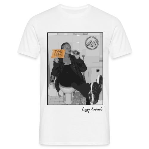 Lazy klo! - Männer T-Shirt