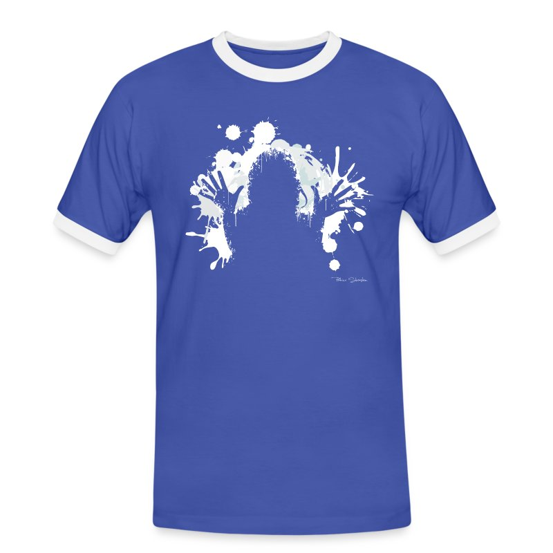 Bukkake même sur les manches !!! - T-shirt contrasté Homme