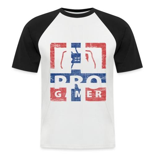 Kortermet baseball skjorte - Kortermet baseball skjorte for menn