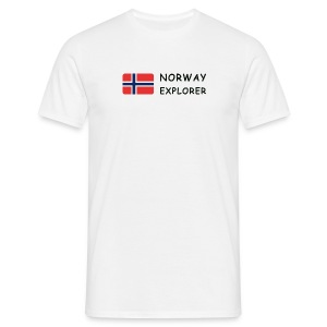 Classic T-Shirt NORWAY EXPLORER dark-lettered - Men's T-Shirt