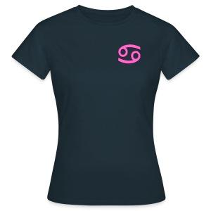 T-shirt donna Cancro - Maglietta da donna