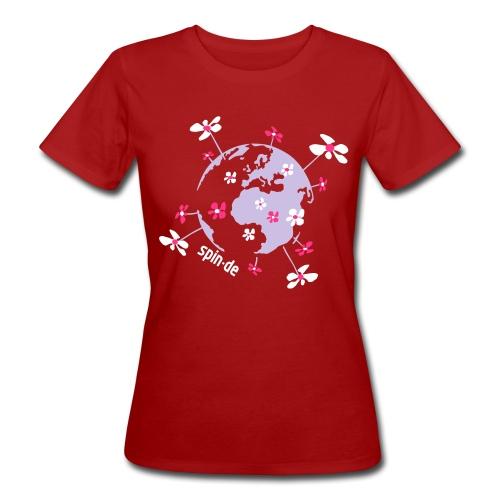 Unsere Erde Shirt Girl - Frauen Bio-T-Shirt