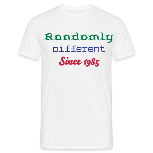 rds 85 tee mens - Men's T-Shirt