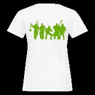 T-Shirts ~ Frauen Bio-T-Shirt ~ Jugger Team grün