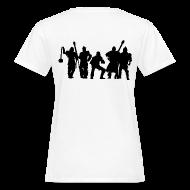 T-Shirts ~ Frauen Bio-T-Shirt ~ Jugger Team schwarz