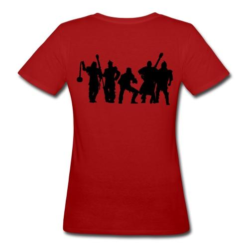 Jugger Team schwarz - Frauen Bio-T-Shirt