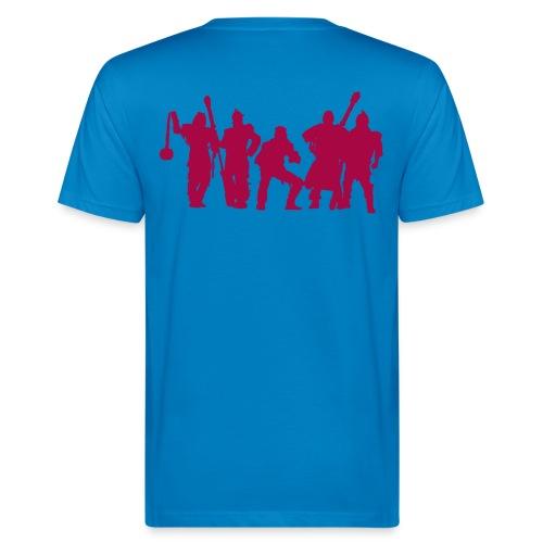 Jugger Team rot - Männer Bio-T-Shirt
