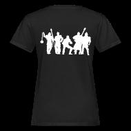T-Shirts ~ Frauen Bio-T-Shirt ~ Jugger Team weiss