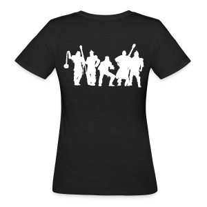 Jugger Team weiss - Frauen Bio-T-Shirt