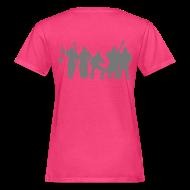 T-Shirts ~ Frauen Bio-T-Shirt ~ Jugger Team grau