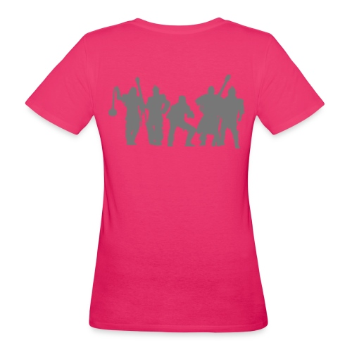 Jugger Team grau - Frauen Bio-T-Shirt