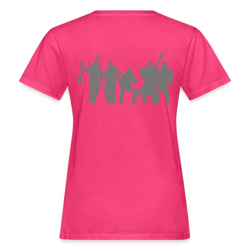 Jugger Team grau - Frauen Bio-T-Shirt