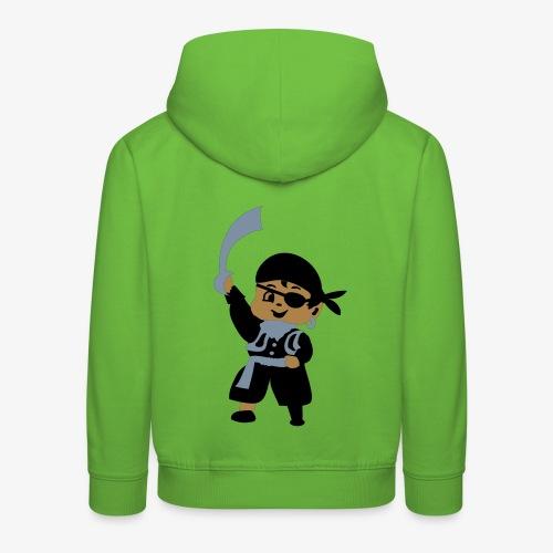 Kid Billy Pirate by Patjila - Kids' Premium Hoodie