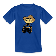 Shirts ~ Teenager T-shirt ~ Cowboy Kid Billy retro kid's tee