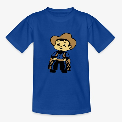 Cowboy Kid Billy retro kid's tee - Teenage T-Shirt