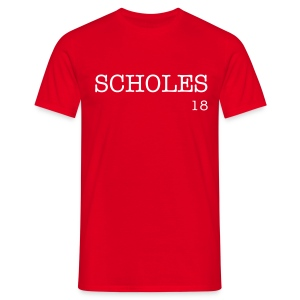 Scholes Quote T-shirt - Men's T-Shirt