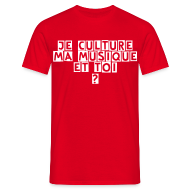 Tee shirts ~ Tee shirt Homme ~ T-shirt: je culture...