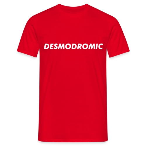 Desmodromic in più - T-skjorte for menn