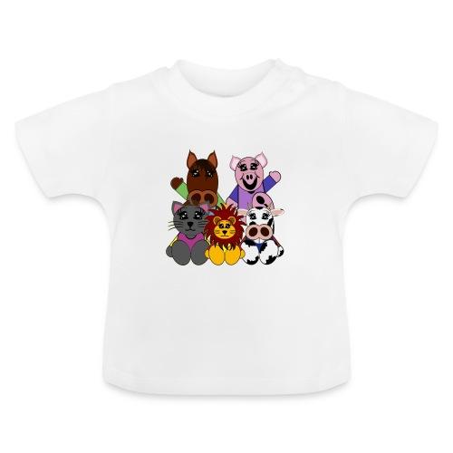 T shirt bébé animaux - T-shirt Bébé