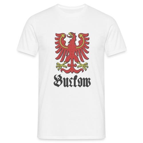 T-Shirt Buckow mit Wappenteil des Berliner Bezirks Neukölln - Männer T-Shirt