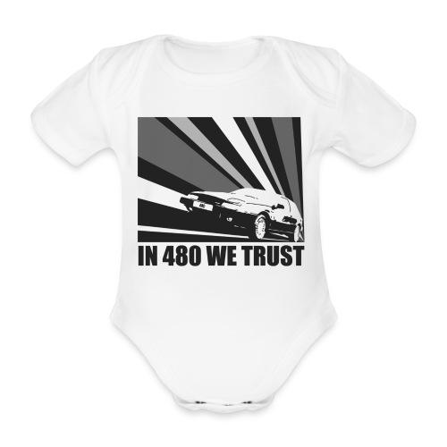 Body bébé - In 480 we trust - Body bébé bio manches courtes