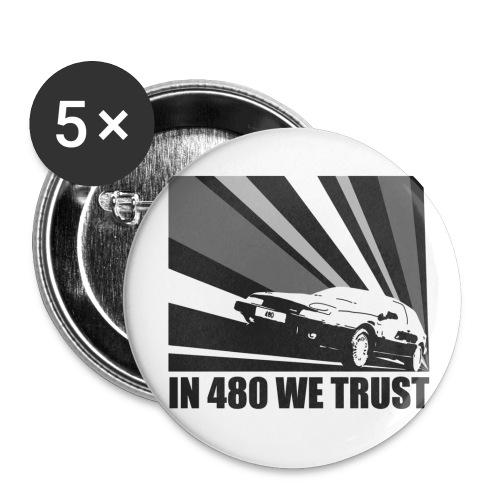 Badge - In 480 we trust - Badge moyen 32 mm