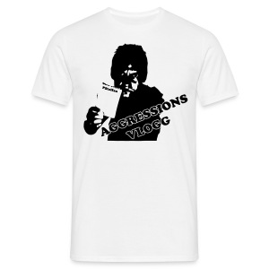 Aggression - Man - T-shirt herr