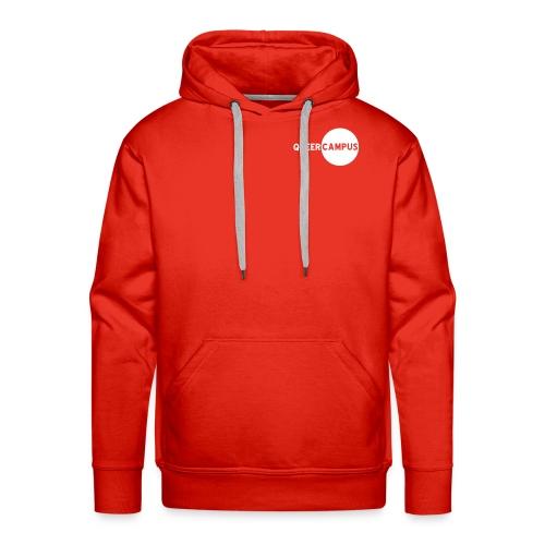 QC Männer Hoodie (kl. Logo) - Männer Premium Hoodie