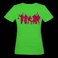 T-Shirts ~ Frauen Bio-T-Shirt ~ Jugger Team rot