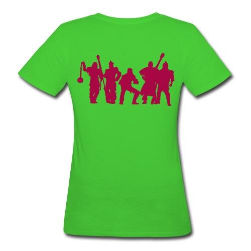 Jugger Team rot - Frauen Bio-T-Shirt