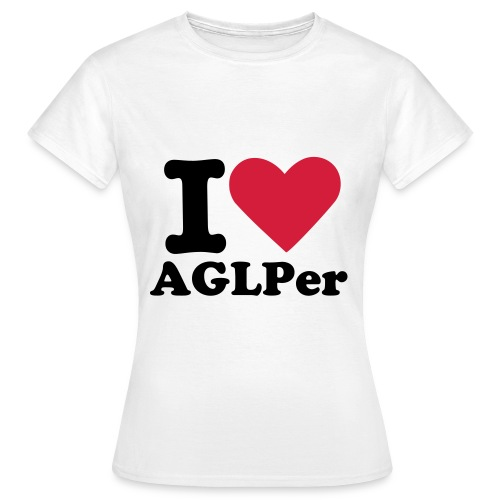 I x3 AGLPer ! - Frauen T-Shirt