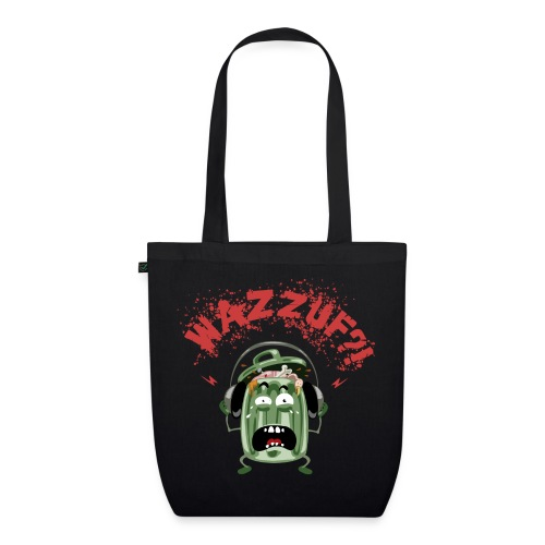 Wazzuf at the beach ? (dark side) - Sac en tissu biologique