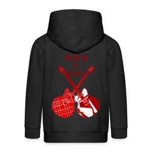 Veste capuche enfant rock n' roll - Veste à capuche Premium Enfant