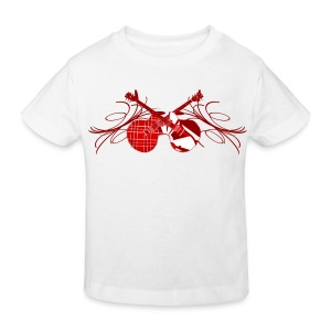 T shirt enfant rock n' roll - T-shirt bio Enfant