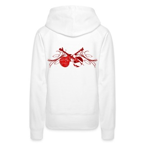 Pull capuche femme rock n' roll - Sweat-shirt à capuche Premium pour femmes
