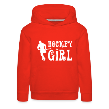Hockey Girl - Field Hockey Kids' Tops
