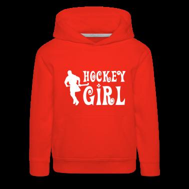 Hockey Girl - Field Hockey Kids' Tops