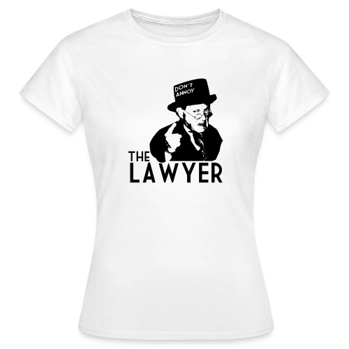Angry Lawyer - Women's T-Shirt