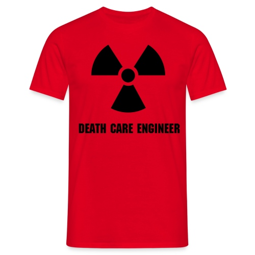 death care engineer - Männer T-Shirt