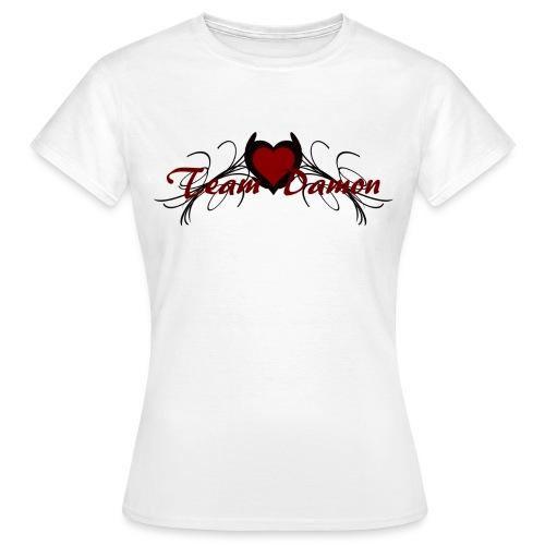 T shirt femme team damon - T-shirt Femme