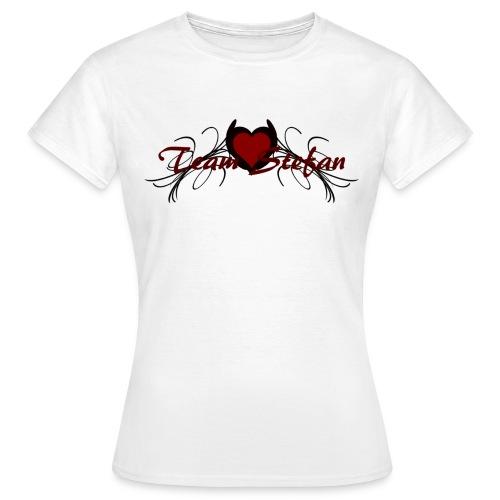 T shirt femme team stefan - T-shirt Femme