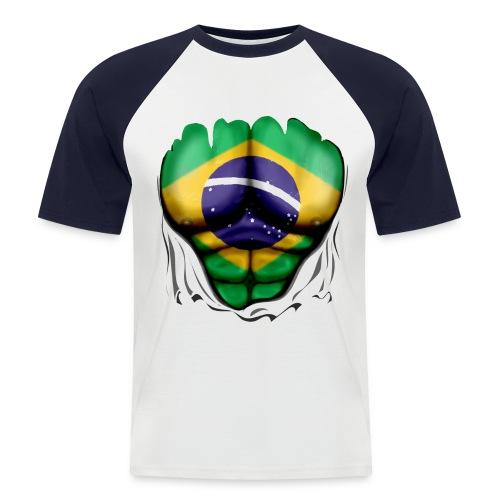 BRAZIL JEAN - Männer Baseball-T-Shirt