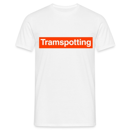 Tramspotting - Men's T-Shirt