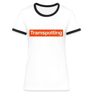 Tramspotting - Women's Ringer T-Shirt