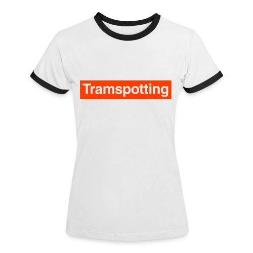 Tramspotting - Women's Ringer T-Shirt