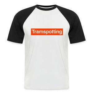 Tramspotting - Men's Baseball T-Shirt